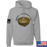 Men of Arms Apparel Forbidden Tuna Hoodie Hoodies Small / Light Grey by Ballistic Ink - Made in America USA
