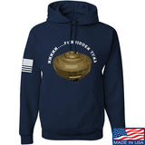 Men of Arms Apparel Forbidden Tuna Hoodie Hoodies Small / Navy by Ballistic Ink - Made in America USA