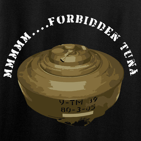Men of Arms Apparel Forbidden Tuna T-Shirt T-Shirts [variant_title] by Ballistic Ink - Made in America USA