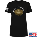 Men of Arms Apparel Ladies Forbidden Tuna T-Shirt T-Shirts SMALL / Black by Ballistic Ink - Made in America USA
