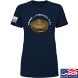 Men of Arms Apparel Ladies Forbidden Tuna T-Shirt T-Shirts SMALL / Navy by Ballistic Ink - Made in America USA