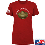 Men of Arms Apparel Ladies Forbidden Tuna T-Shirt T-Shirts SMALL / Red by Ballistic Ink - Made in America USA