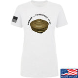Men of Arms Apparel Ladies Forbidden Tuna T-Shirt T-Shirts SMALL / White by Ballistic Ink - Made in America USA