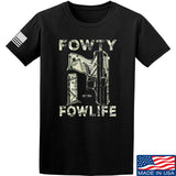 Men of Arms Apparel Fowty Fowlife Benjamin T-Shirt T-Shirts Small / Black by Ballistic Ink - Made in America USA