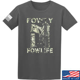 Men of Arms Apparel Fowty Fowlife Benjamin T-Shirt T-Shirts Small / Charcoal by Ballistic Ink - Made in America USA