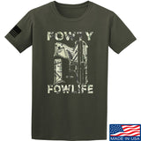 Men of Arms Apparel Fowty Fowlife Benjamin T-Shirt T-Shirts Small / Military Green by Ballistic Ink - Made in America USA