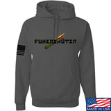 Men of Arms Apparel Fuken Hoodie Hoodies Small / Charcoal by Ballistic Ink - Made in America USA