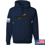 Men of Arms Apparel Fuken Hoodie Hoodies Small / Navy by Ballistic Ink - Made in America USA