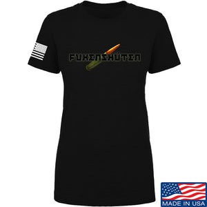 Men of Arms Apparel Ladies Fuken T-Shirt T-Shirts SMALL / Cream by Ballistic Ink - Made in America USA