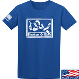 Men of Arms Apparel Hookers And Blow T-Shirt T-Shirts Small / Blue by Ballistic Ink - Made in America USA