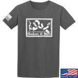 Men of Arms Apparel Hookers And Blow T-Shirt T-Shirts Small / Charcoal by Ballistic Ink - Made in America USA
