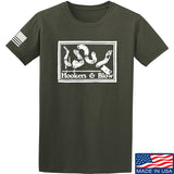 Men of Arms Apparel Hookers And Blow T-Shirt T-Shirts Small / Military Green by Ballistic Ink - Made in America USA
