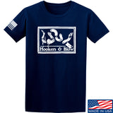 Men of Arms Apparel Hookers And Blow T-Shirt T-Shirts Small / Navy by Ballistic Ink - Made in America USA