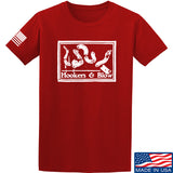 Men of Arms Apparel Hookers And Blow T-Shirt T-Shirts Small / Red by Ballistic Ink - Made in America USA