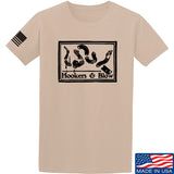 Men of Arms Apparel Hookers And Blow T-Shirt T-Shirts Small / Sand by Ballistic Ink - Made in America USA