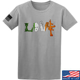 Men of Arms Apparel Irish Love T-Shirt T-Shirts Small / Light Grey by Ballistic Ink - Made in America USA