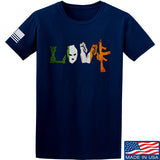 Men of Arms Apparel Irish Love T-Shirt T-Shirts Small / Navy by Ballistic Ink - Made in America USA