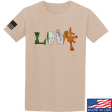 Men of Arms Apparel Irish Love T-Shirt T-Shirts Small / Sand by Ballistic Ink - Made in America USA