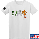 Men of Arms Apparel Irish Love T-Shirt T-Shirts Small / White by Ballistic Ink - Made in America USA