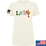 Men of Arms Apparel Ladies Irish Love T-Shirt T-Shirts SMALL / Cream by Ballistic Ink - Made in America USA