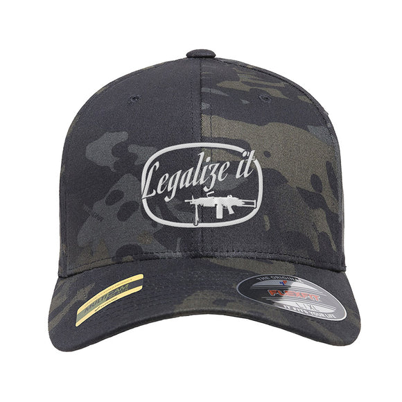Legalize It Flexfit® Multicam® Trucker Cap [MAC]