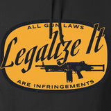 Men of Arms Apparel Legalize It Hoodie Hoodies [variant_title] by Ballistic Ink - Made in America USA