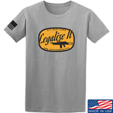 Men of Arms Apparel Legalize It T-Shirt T-Shirts Small / Light Grey by Ballistic Ink - Made in America USA