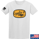 Men of Arms Apparel Legalize It T-Shirt T-Shirts Small / White by Ballistic Ink - Made in America USA