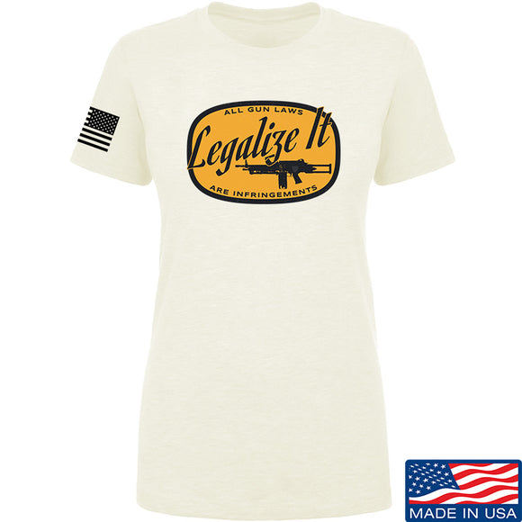 Ladies Legalize It T-Shirt [MAC]
