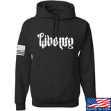 Men of Arms Apparel Liberty or Death Hoodie Hoodies Small / Black by Ballistic Ink - Made in America USA