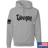 Men of Arms Apparel Liberty or Death Hoodie Hoodies Small / Light Grey by Ballistic Ink - Made in America USA