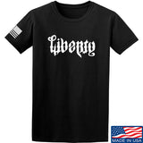 Men of Arms Apparel Liberty or Death T-Shirt T-Shirts Small / Black by Ballistic Ink - Made in America USA