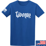 Men of Arms Apparel Liberty or Death T-Shirt T-Shirts Small / Blue by Ballistic Ink - Made in America USA