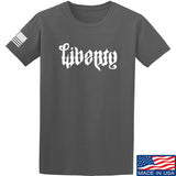 Men of Arms Apparel Liberty or Death T-Shirt T-Shirts Small / Charcoal by Ballistic Ink - Made in America USA