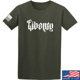 Men of Arms Apparel Liberty or Death T-Shirt T-Shirts Small / Military Green by Ballistic Ink - Made in America USA