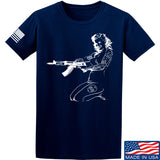 Men of Arms Apparel Marilyn AK T-Shirt T-Shirts Small / Navy by Ballistic Ink - Made in America USA