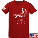 Men of Arms Apparel Marilyn AK T-Shirt T-Shirts Small / Red by Ballistic Ink - Made in America USA