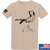 Men of Arms Apparel Marilyn AK T-Shirt T-Shirts Small / Sand by Ballistic Ink - Made in America USA