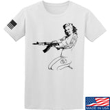 Men of Arms Apparel Marilyn AK T-Shirt T-Shirts Small / White by Ballistic Ink - Made in America USA