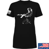Men of Arms Apparel Ladies Marilyn AK T-Shirt T-Shirts SMALL / Black by Ballistic Ink - Made in America USA