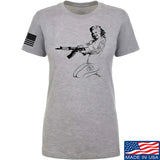Men of Arms Apparel Ladies Marilyn AK T-Shirt T-Shirts SMALL / Light Grey by Ballistic Ink - Made in America USA