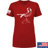 Men of Arms Apparel Ladies Marilyn AK T-Shirt T-Shirts SMALL / Red by Ballistic Ink - Made in America USA