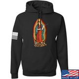 Men of Arms Apparel Mary of Perpetual Brass Hoodie Hoodies Small / Black by Ballistic Ink - Made in America USA