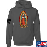Men of Arms Apparel Mary of Perpetual Brass Hoodie Hoodies Small / Charcoal by Ballistic Ink - Made in America USA