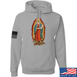 Men of Arms Apparel Mary of Perpetual Brass Hoodie Hoodies Small / Light Grey by Ballistic Ink - Made in America USA