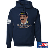 Men of Arms Apparel Not the ATF Hoodie Hoodies Small / Navy by Ballistic Ink - Made in America USA