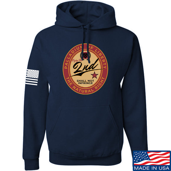 Men of Arms Apparel Paladium of Liberty Hoodie Hoodies Small / Navy by Ballistic Ink - Made in America USA