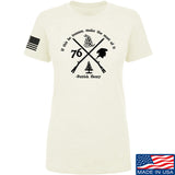 Men of Arms Apparel Ladies Patrick Henry Revolution T-Shirt T-Shirts SMALL / Cream by Ballistic Ink - Made in America USA