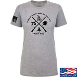 Men of Arms Apparel Ladies Patrick Henry Revolution T-Shirt T-Shirts SMALL / Light Grey by Ballistic Ink - Made in America USA