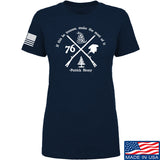 Men of Arms Apparel Ladies Patrick Henry Revolution T-Shirt T-Shirts SMALL / Navy by Ballistic Ink - Made in America USA